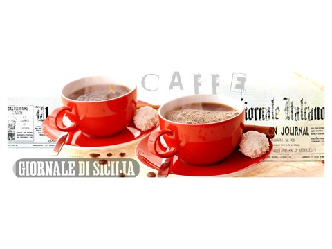 Bilder mit roten Kaffeemotiven