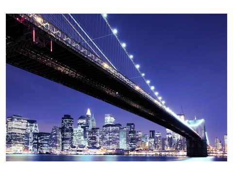 ein klassiker die brooklyn bridge in schwarz wei. Black Bedroom Furniture Sets. Home Design Ideas