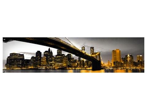 Pont de Brooklyn rouge