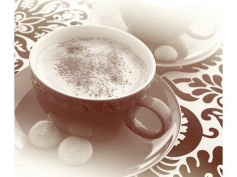 Motif de cappuccino