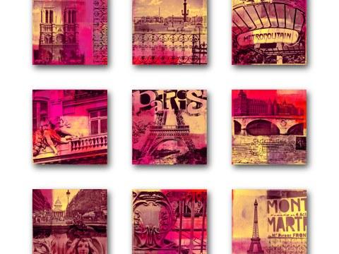 Collage Parijs