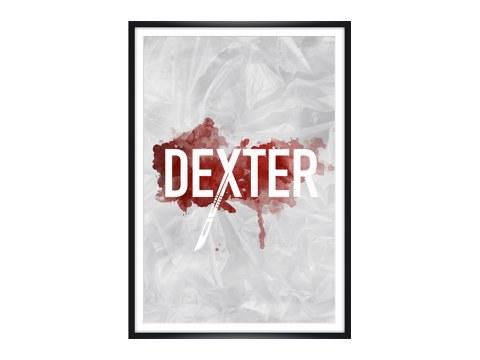 dexter bild als poster f r fans der us kultserie myposter. Black Bedroom Furniture Sets. Home Design Ideas