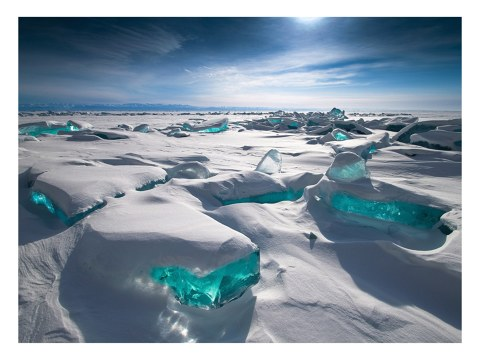 Panorama de glace