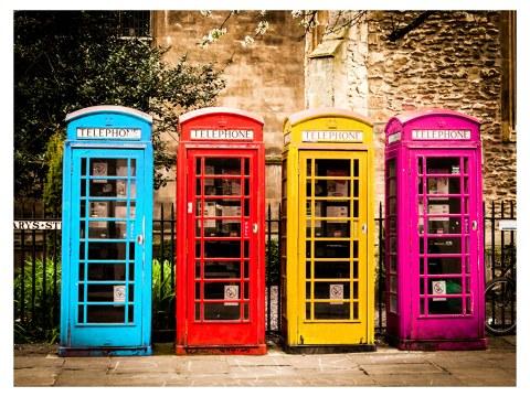 Engelse telefooncel