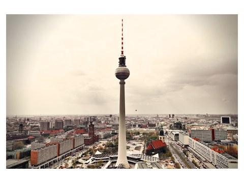 Poster de la tour de la télévision de Berlin