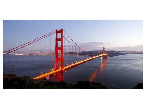 Puente Golden Gate imágenes crepúsculo