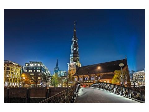 Photos de Hambourg sur toile