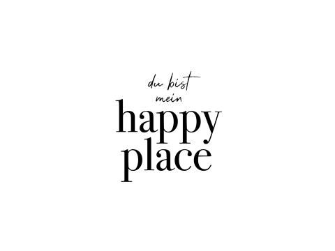 du bist mein happy place
