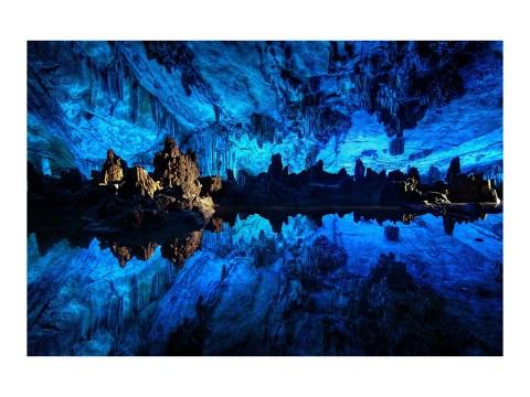 Bild blaue Höhle