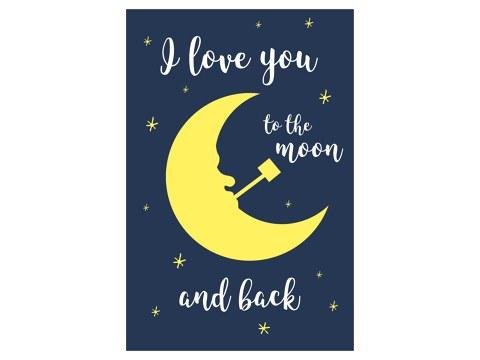 I love you to the moon Bild