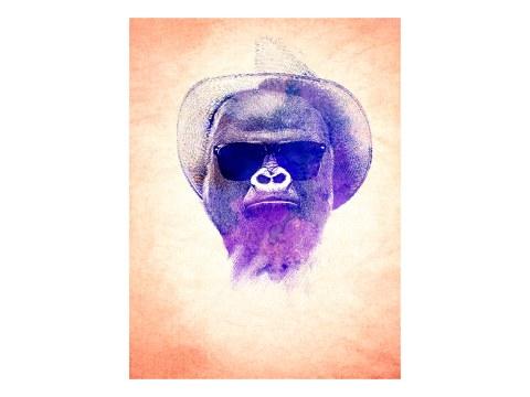 Streetart gorille