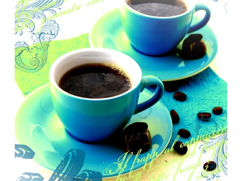 Photo de tasses de café
