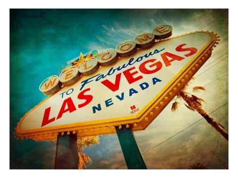 Las Vegas Schild Bild