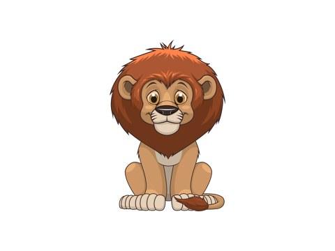 Löwe Kinderbild