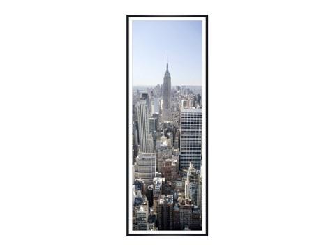 skyline von new york beeindruckende manhattan bilder bei myposter. Black Bedroom Furniture Sets. Home Design Ideas