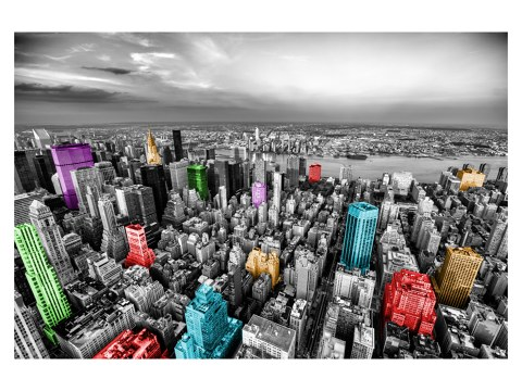 Manhattan farbig