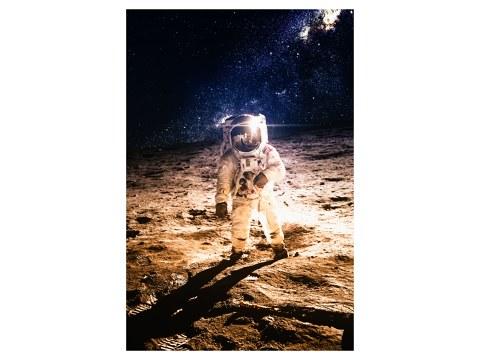 Mondlandung Foto