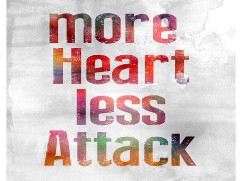 Motif More Heart Less Attack