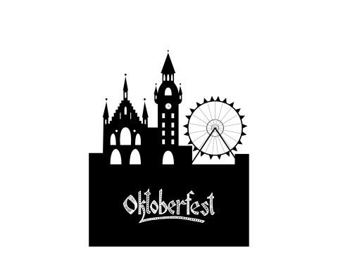 Oktoberfest Silhouette