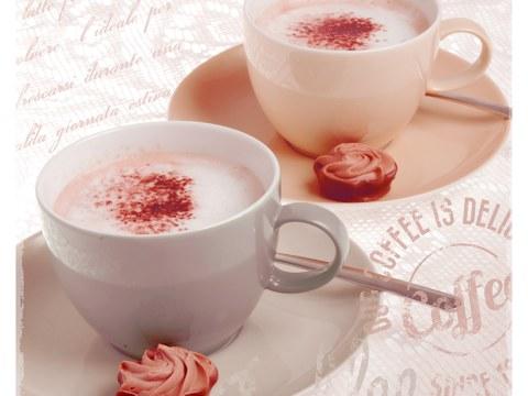 Kaffeebild weiß