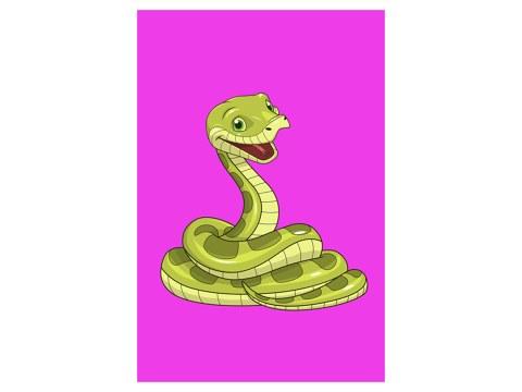 Schlange Kinderbild