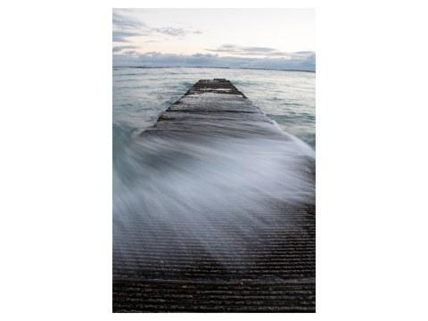 Wellenbrecher Bild