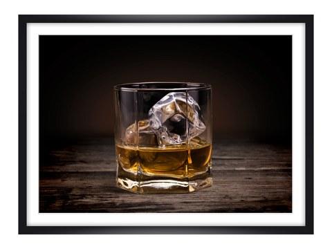 elegantes whiskey glas bild sofort bei myposter bestellen. Black Bedroom Furniture Sets. Home Design Ideas