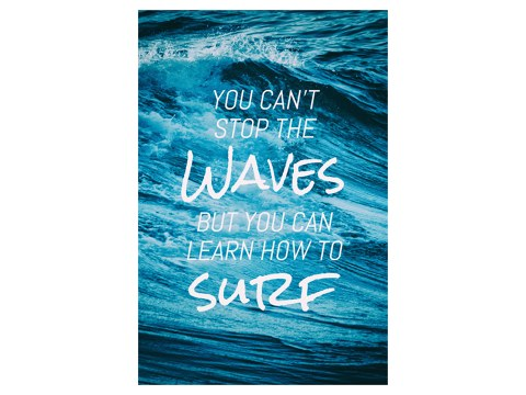 you can't stop the waves