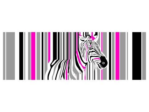 Zebra Popart